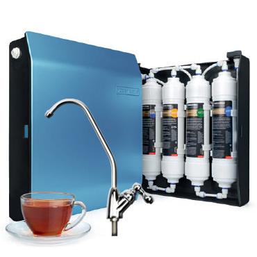 В чем плюсы проточных систем очистки воды?