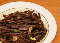 Корейский салат из папоротника
