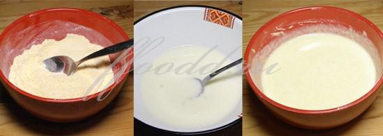 рецепт оладий из кукурузы