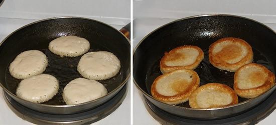 Рецепт оладьев на кефире с фото пошагово