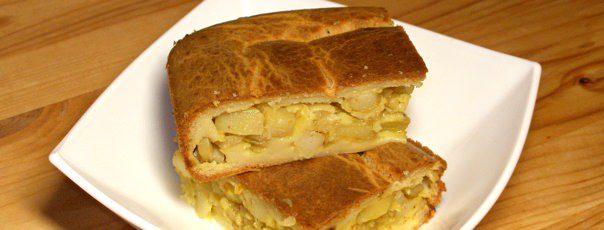 Несладкий пирог с картошкой