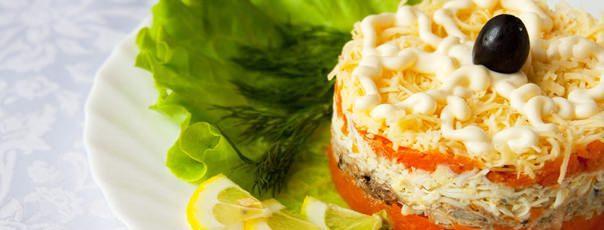 Праздничный и нежный салат «Мимоза»