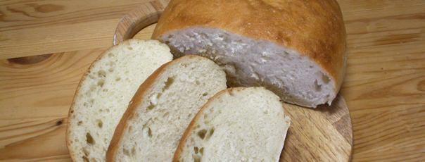 Итальянский белый хлеб «Чиабатта»