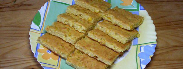 Кукурузный хлеб с цельными зернами